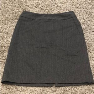 Charcoal gray pencil skirt BANANA REPUBLIC